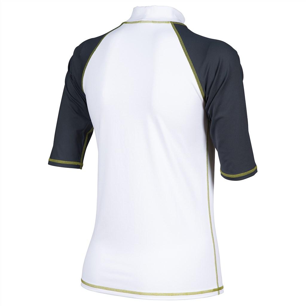 Arena - W Rash Vest S/S - white/ash grey