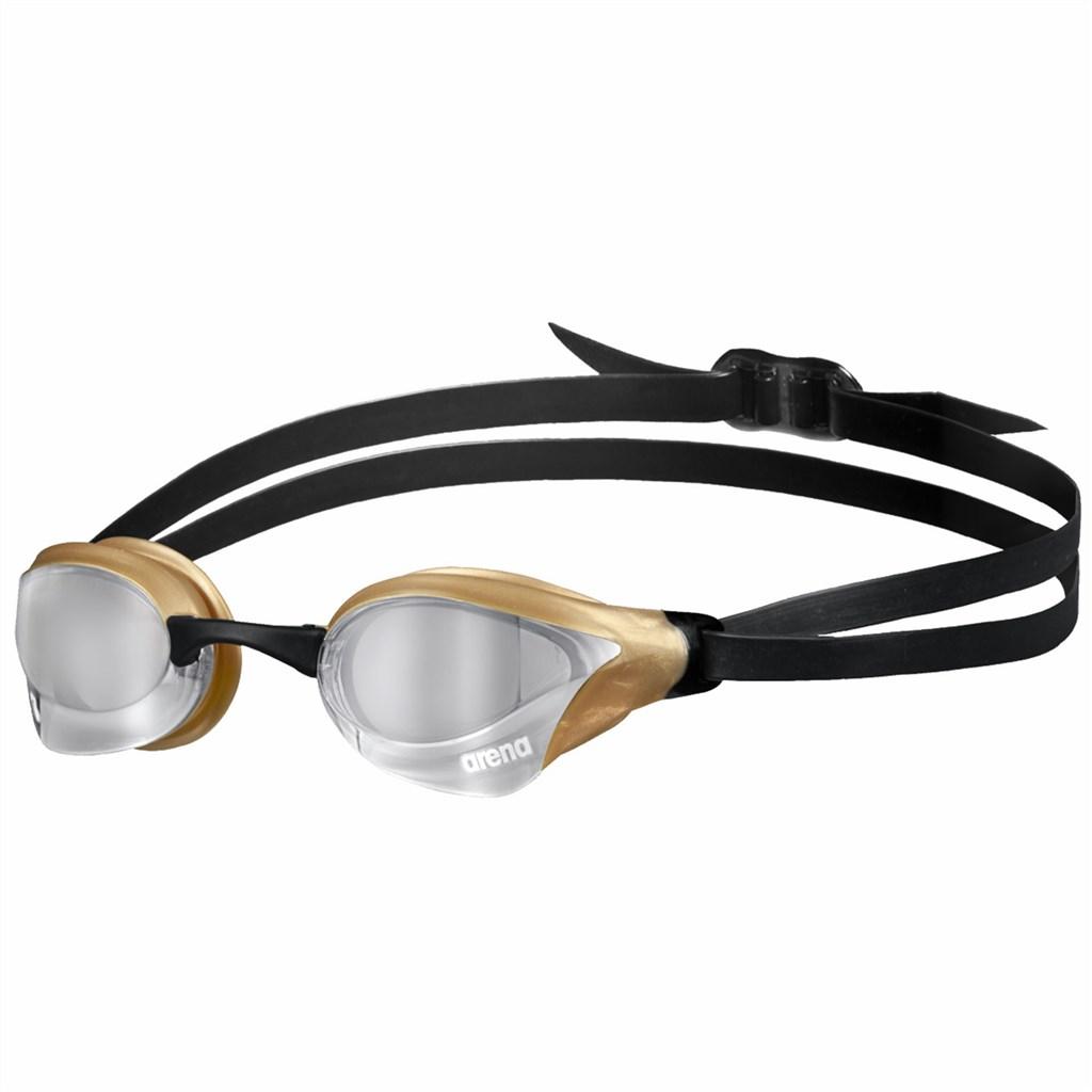 Arena - Cobra Core Swipe Mirror - silver/gold