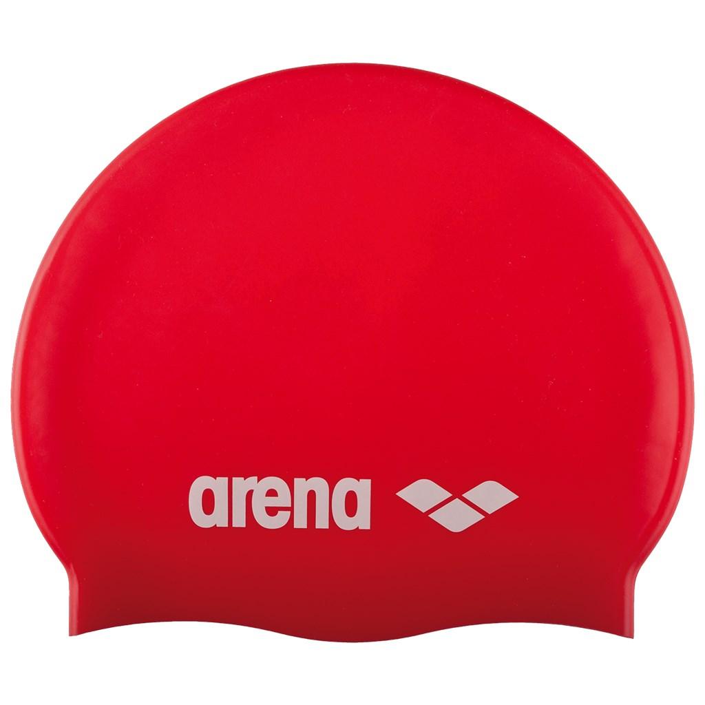 Arena - Jr Classic Silicone - red/white