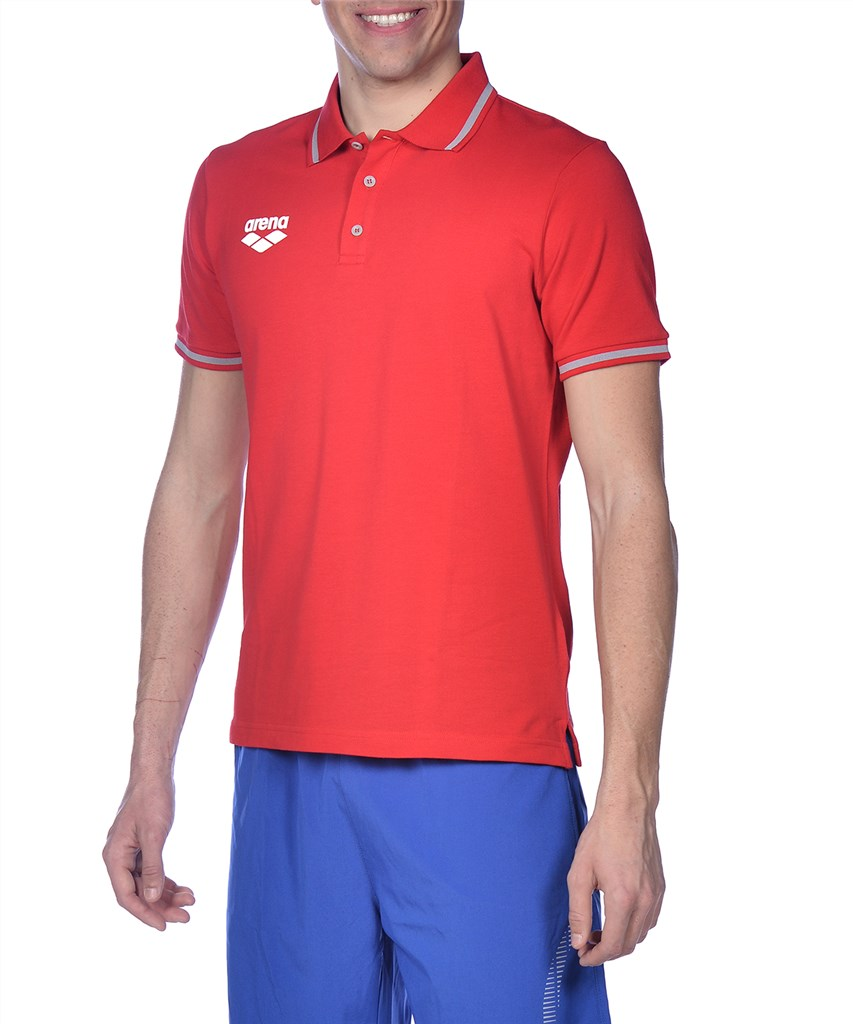 Arena - Tl S/S Polo - red