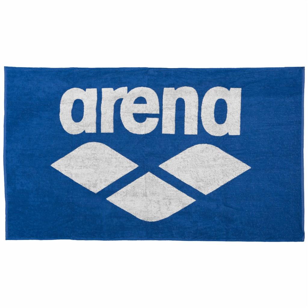 Arena - Pool Soft Towel - royal/white