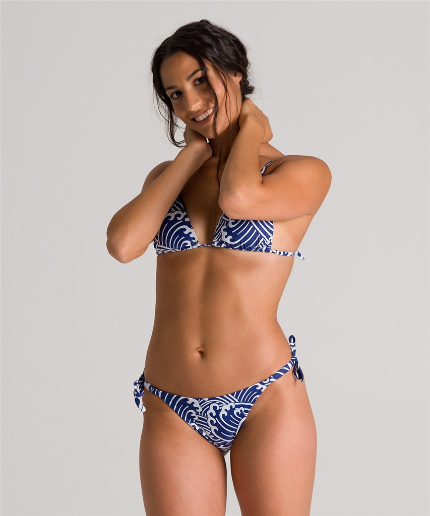 Arena - W Allover Triangle Two Pieces - navy