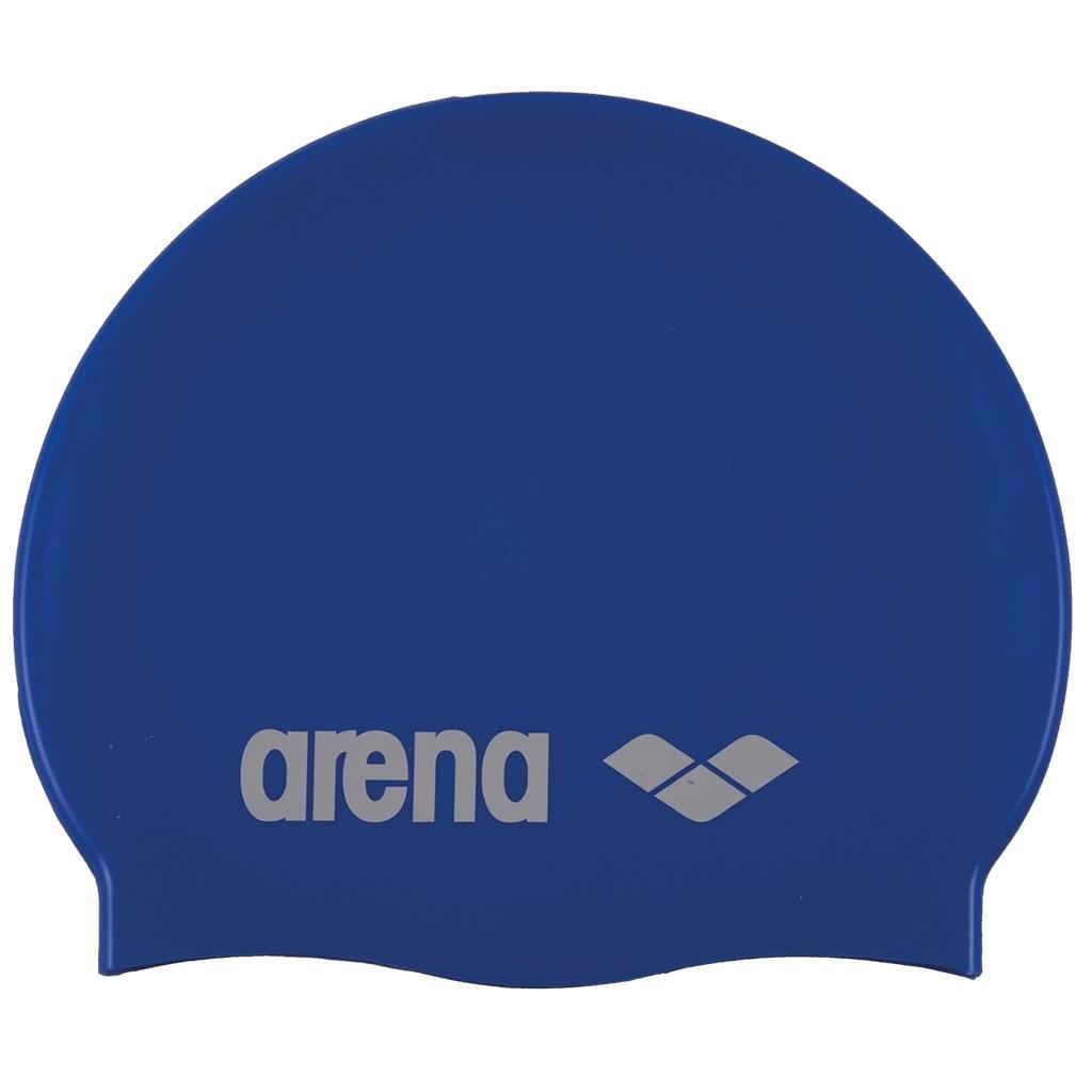 Arena - Classic Silicone Cap - skyblue/white