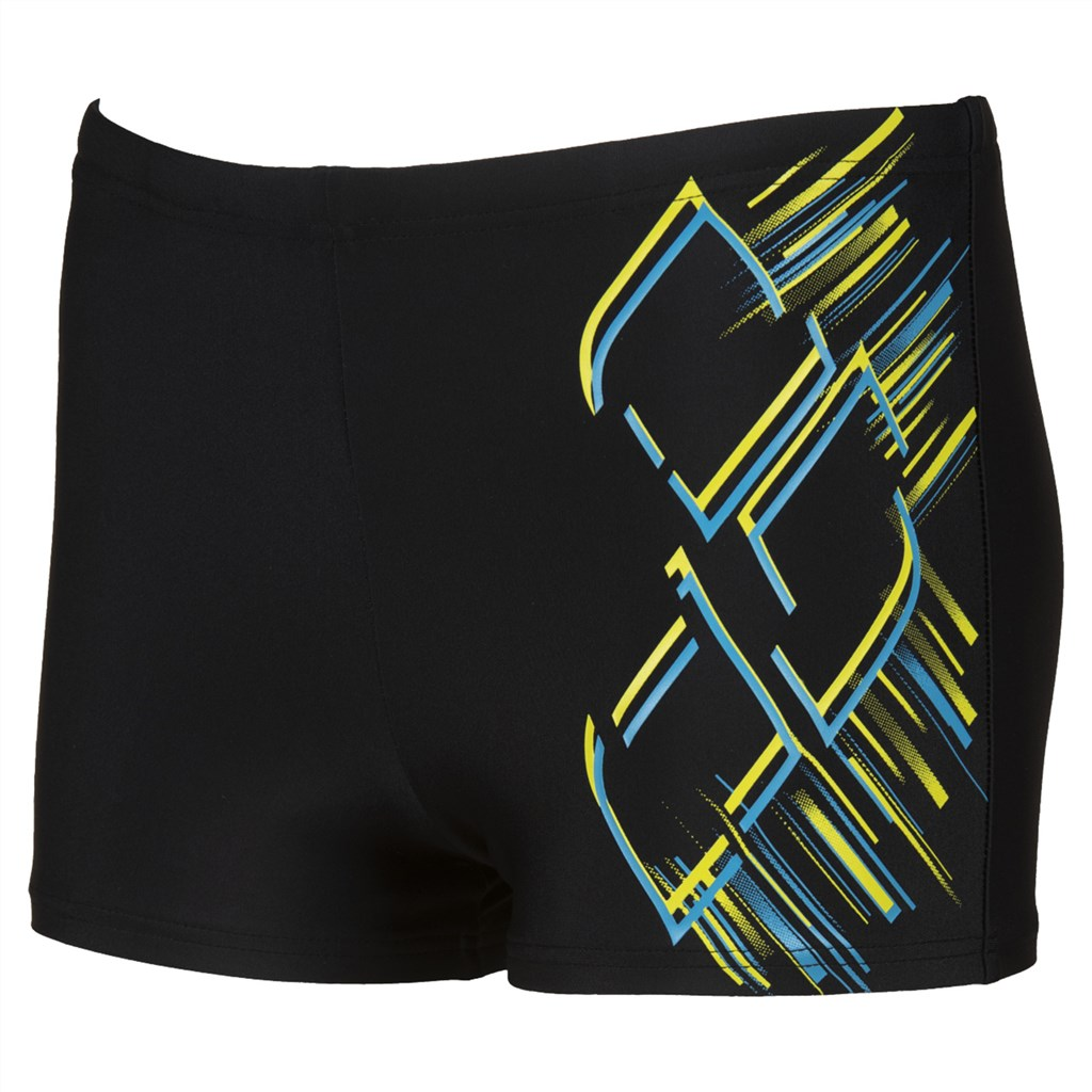 Arena - B Shimmery Jr Short - black/turquoise