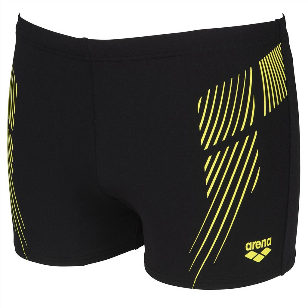 Arena - M Streak Short - black/soft green