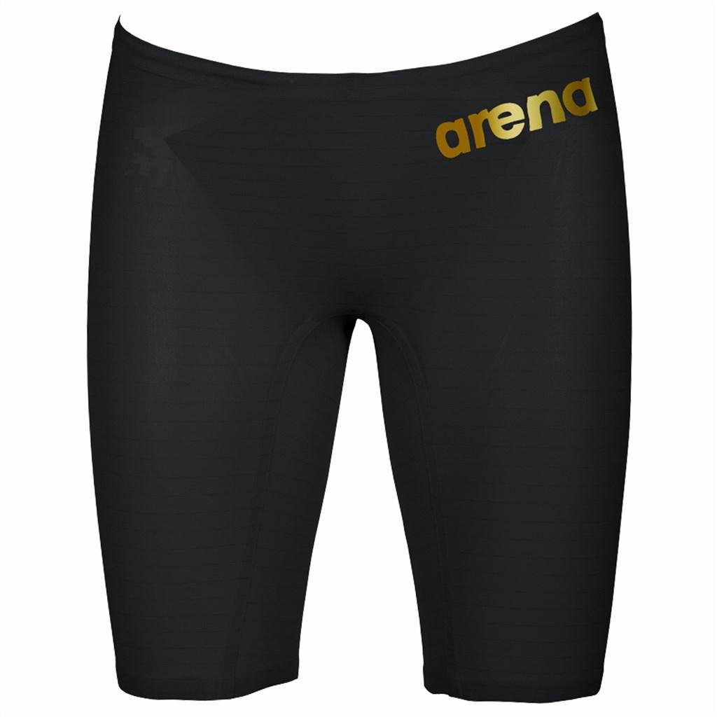 Arena - M Pwskin Carbon Air2 Jammer - black/black/gold