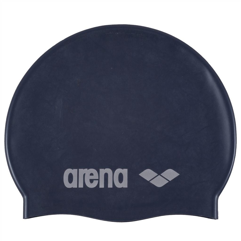 Arena - Jr Classic Silicone - denim/silver
