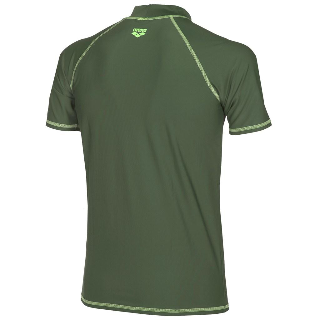 Arena - M Uv T-Shirt - army/shiny green