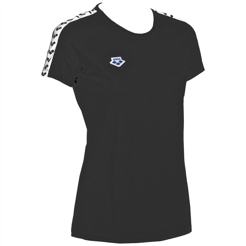 Arena - W T-Shirt Team - black/white/black