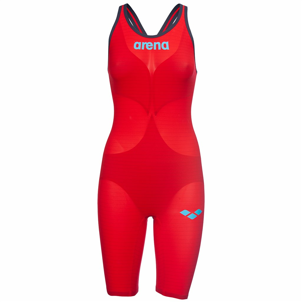 Arena - W Pwskin Carbon Air2 Fbslcb - red