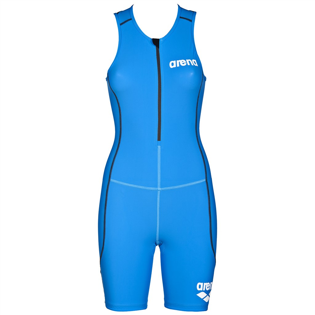 Arena - W Tri Suit ST Front Zip - brilliant blue
