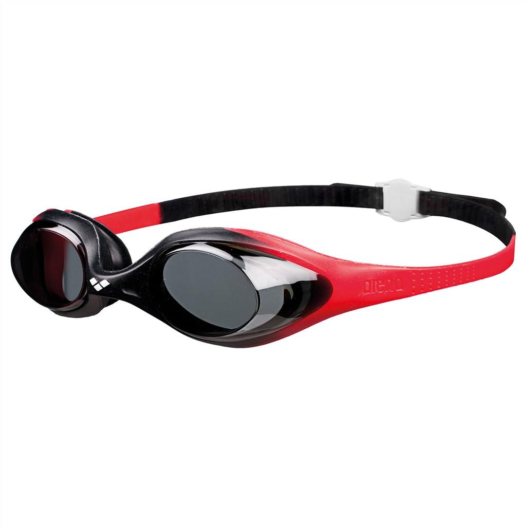 Arena - Jr Spider Goggle - red/smoke/black