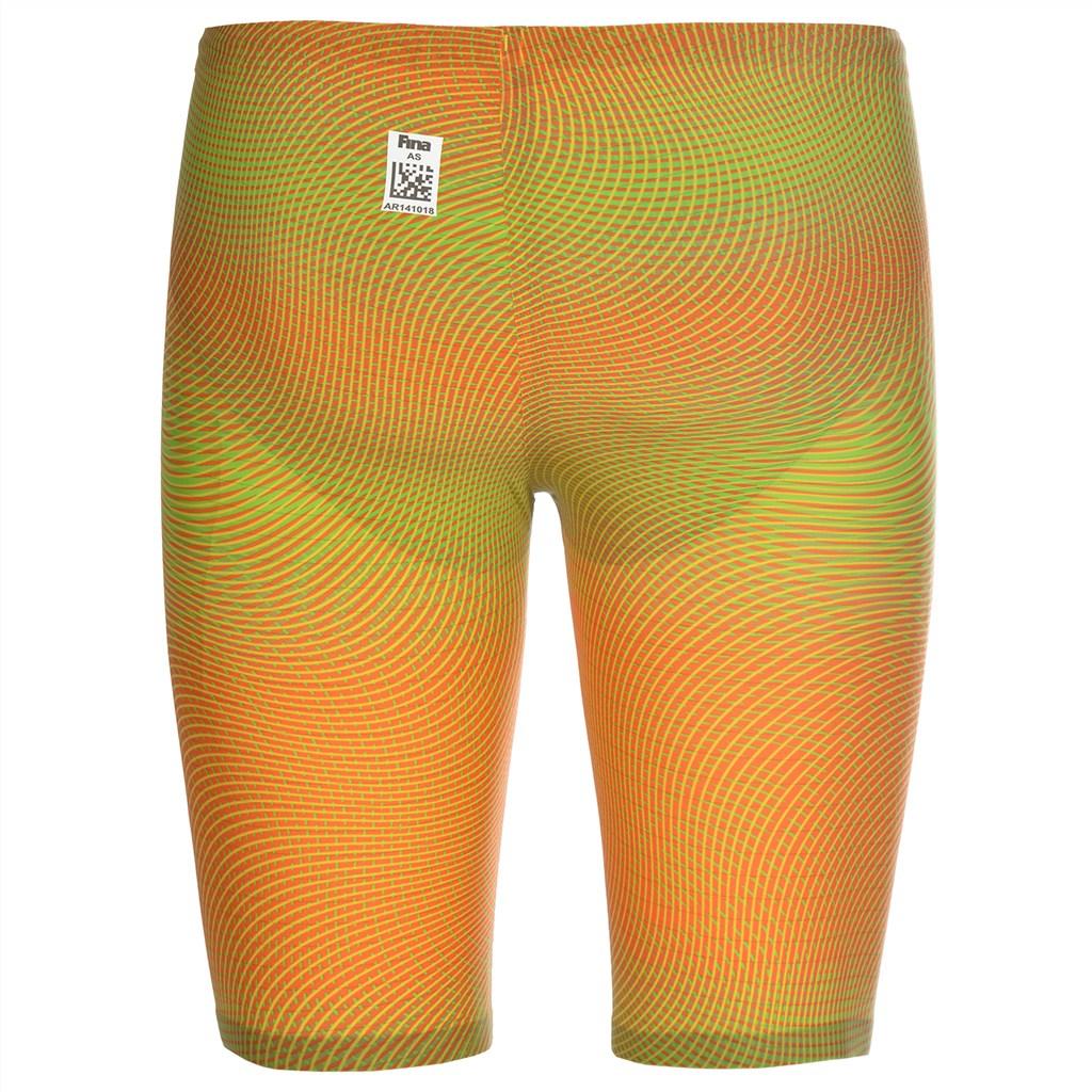 Arena - M Pwskin Carbon Air2 Jammer - psyco lime/orange