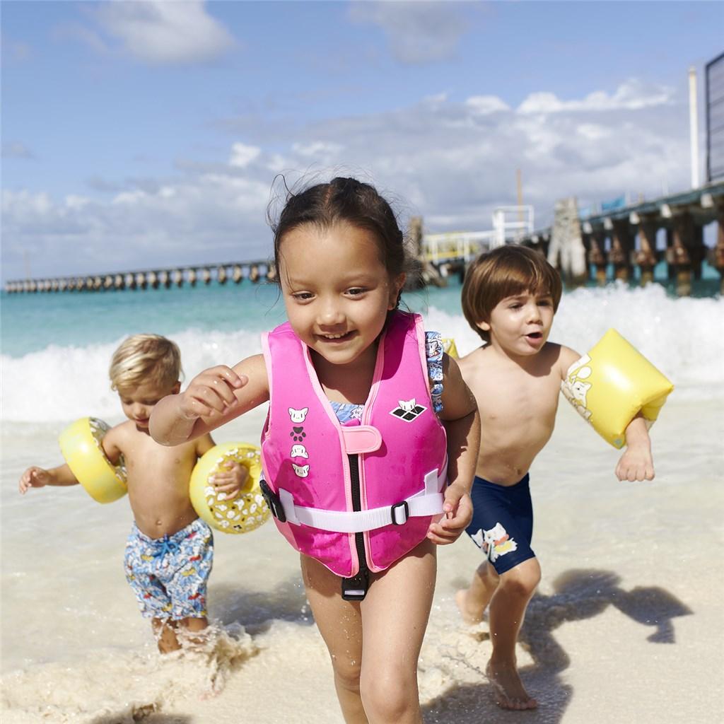 Arena - Kids Awt Floating Armband - yellow