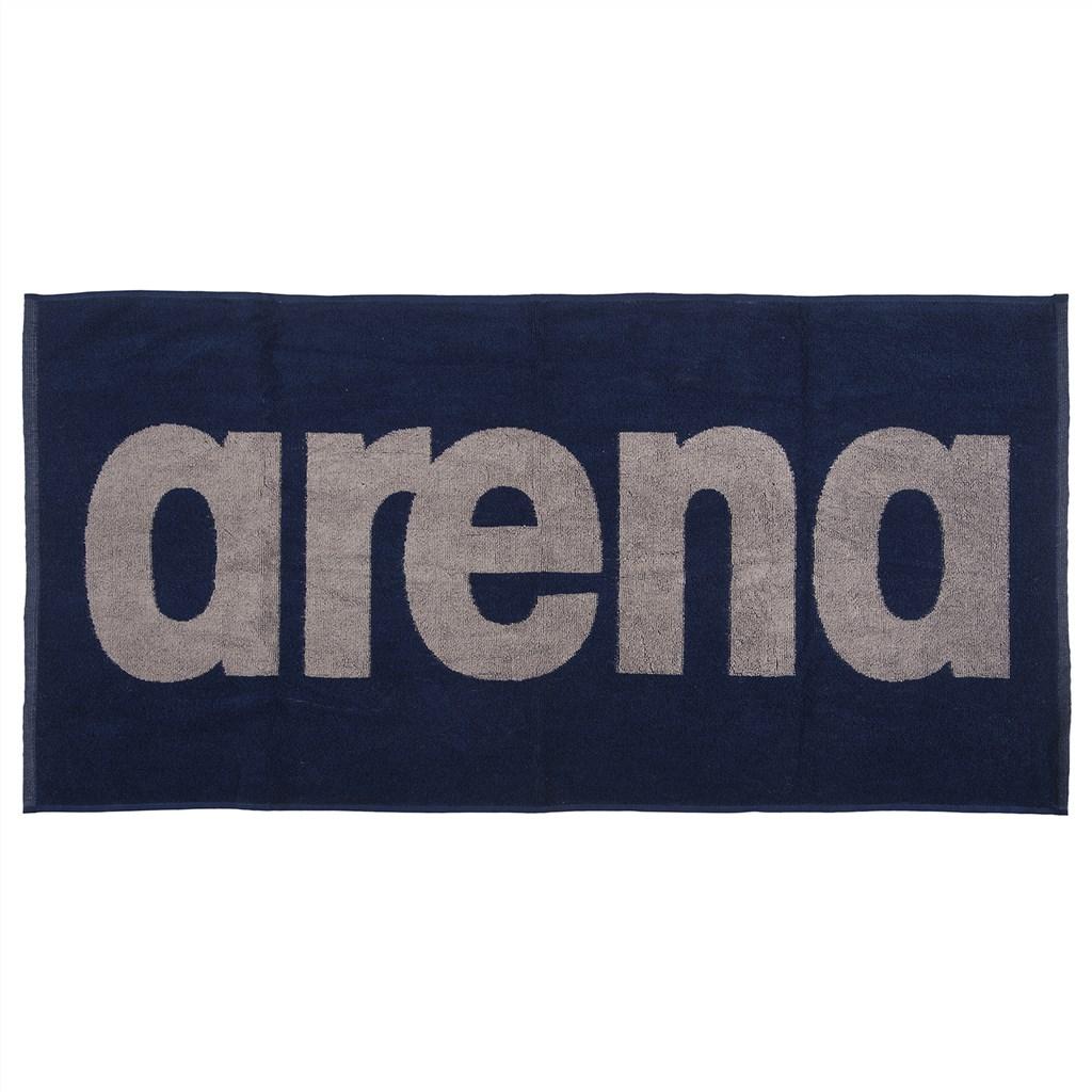 Arena - Gym Soft Towel - navy/grey
