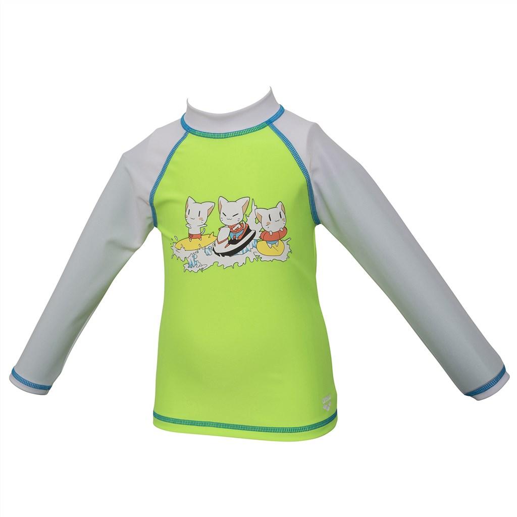 Arena - Kids Friends Uv L/S Tee - soft green/white