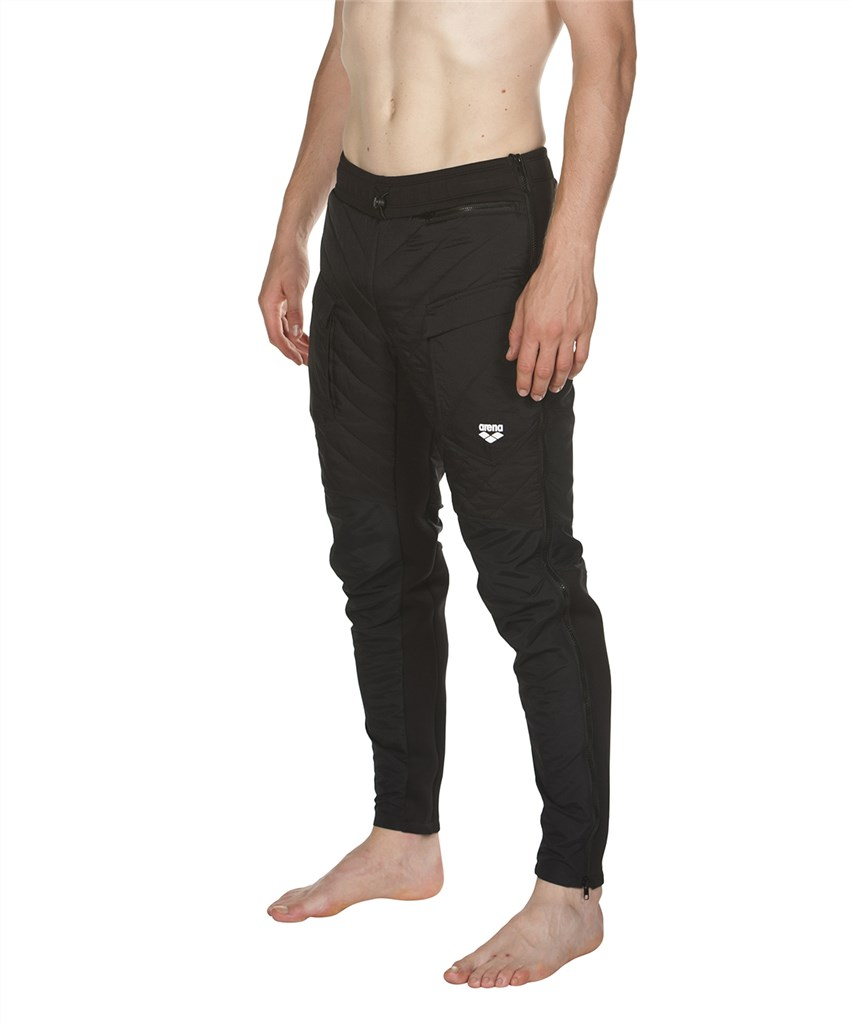 Arena - Half-Quilted Pant - black