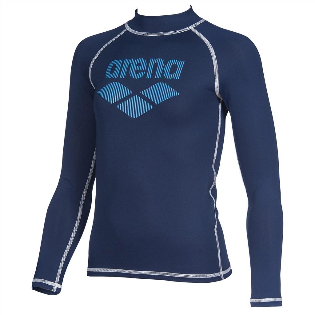 Arena - B Rash Vest L/S - navy