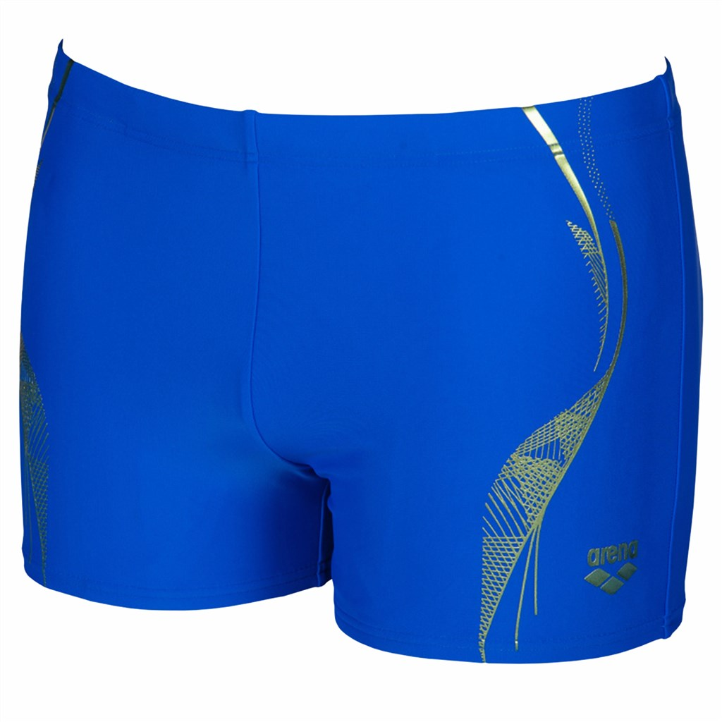 Arena - M Slinky Short - neon blue