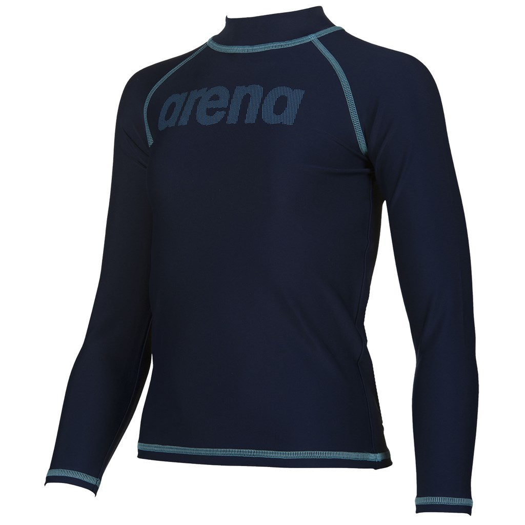 Arena - B Uv Long Sleeves Shirt - navy/sea blue
