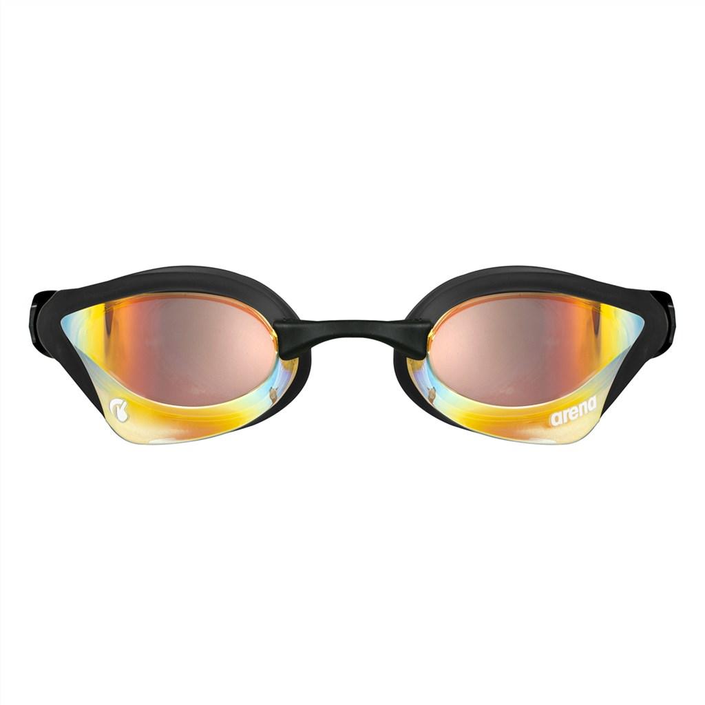 Arena - Cobra Core Swipe Mirror - yellow copper/black