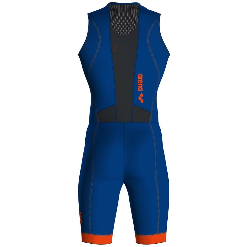 Arena - M Trisuit St 2.0 Front Zip - royal/orange