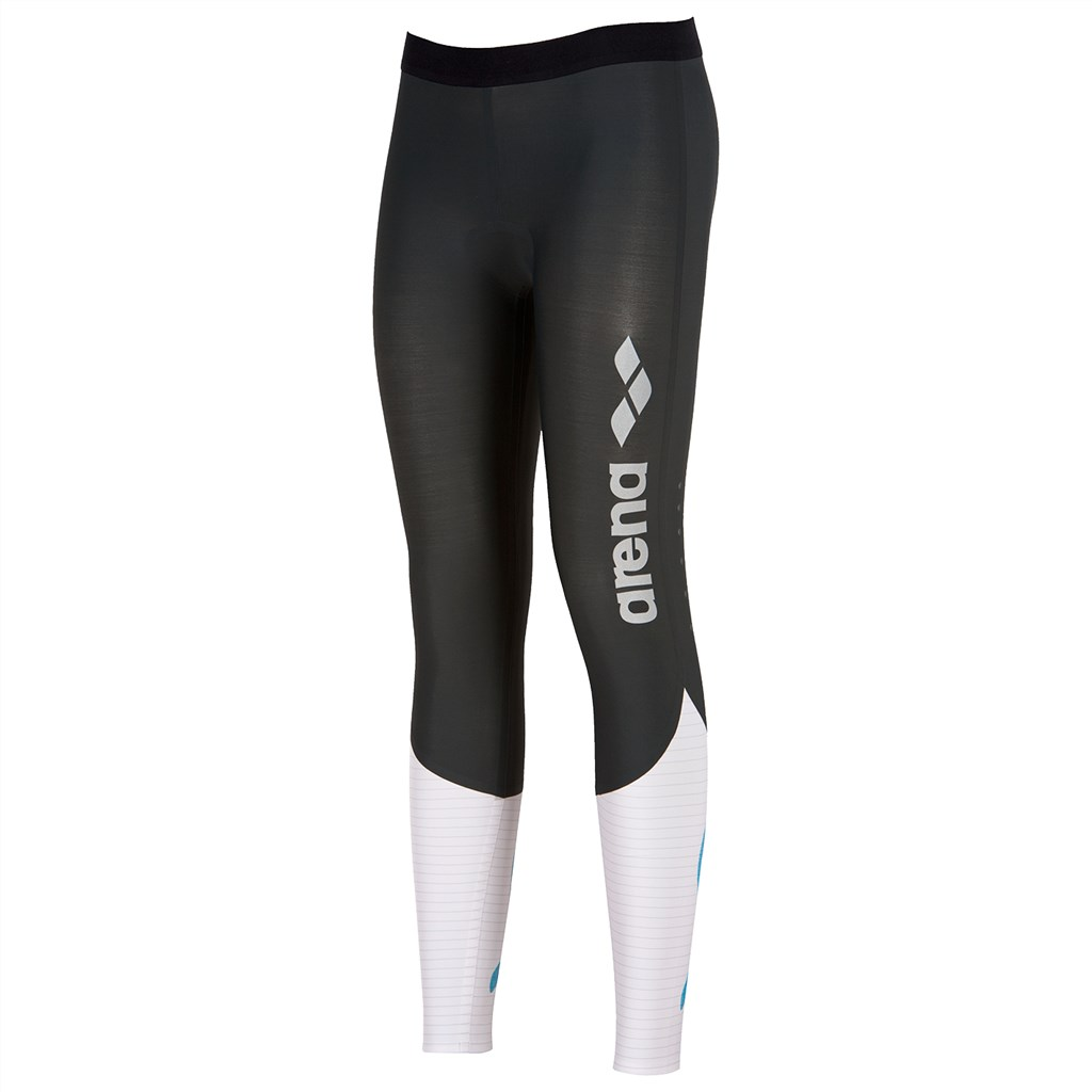 Arena - W Carbon Compression Long Tight - deep grey/white