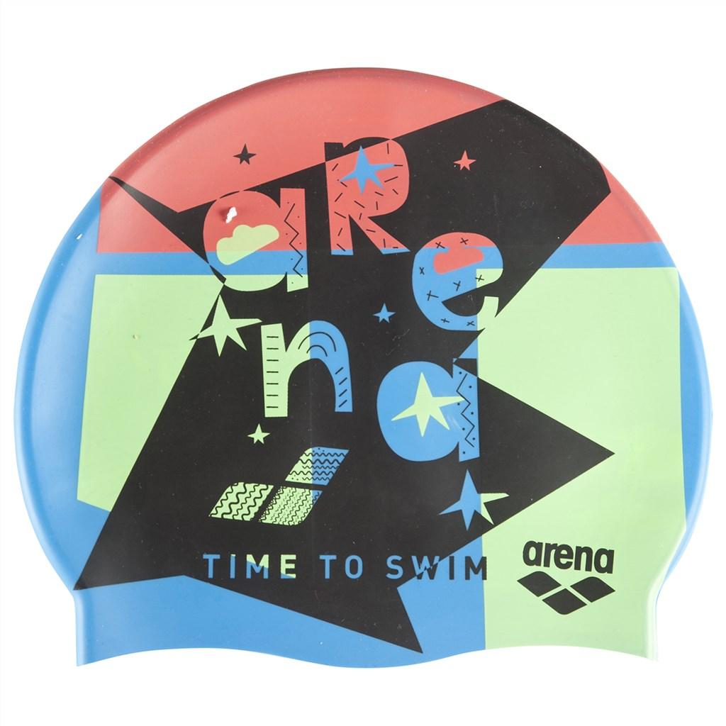 swim time blue