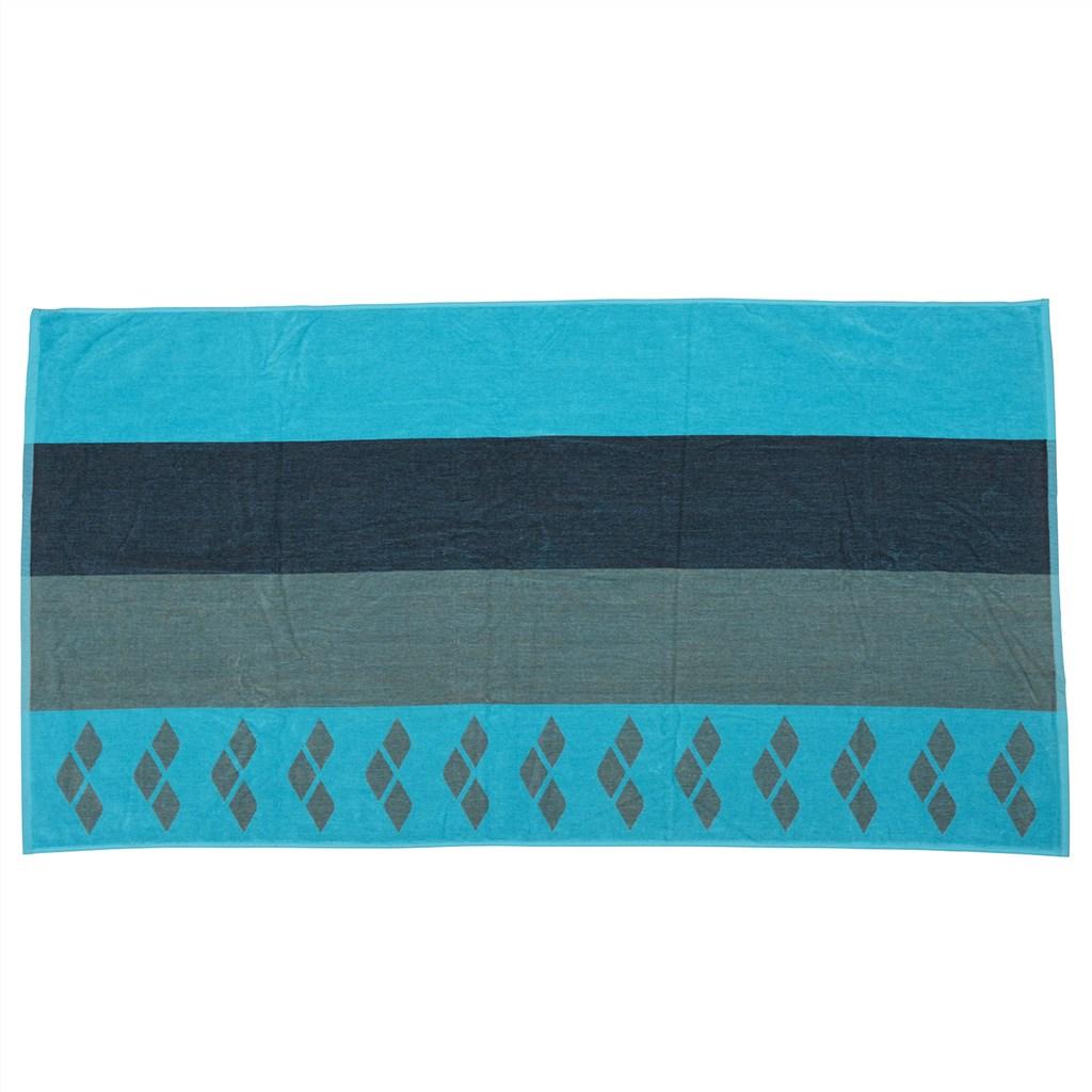 Arena - Beach Multistripes Towel - martinica/army
