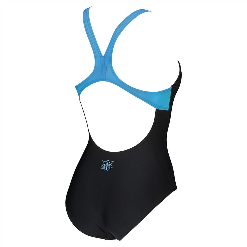 Arena - W Og Swim Pro Back One Piece - black/turquoise
