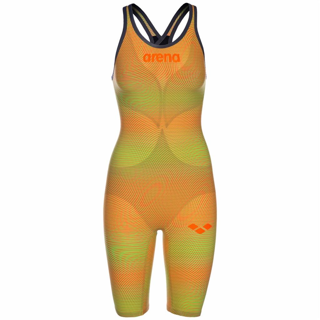 Arena - W Pwskin Carbon Air2 Fbslcb - psyco lime/orange