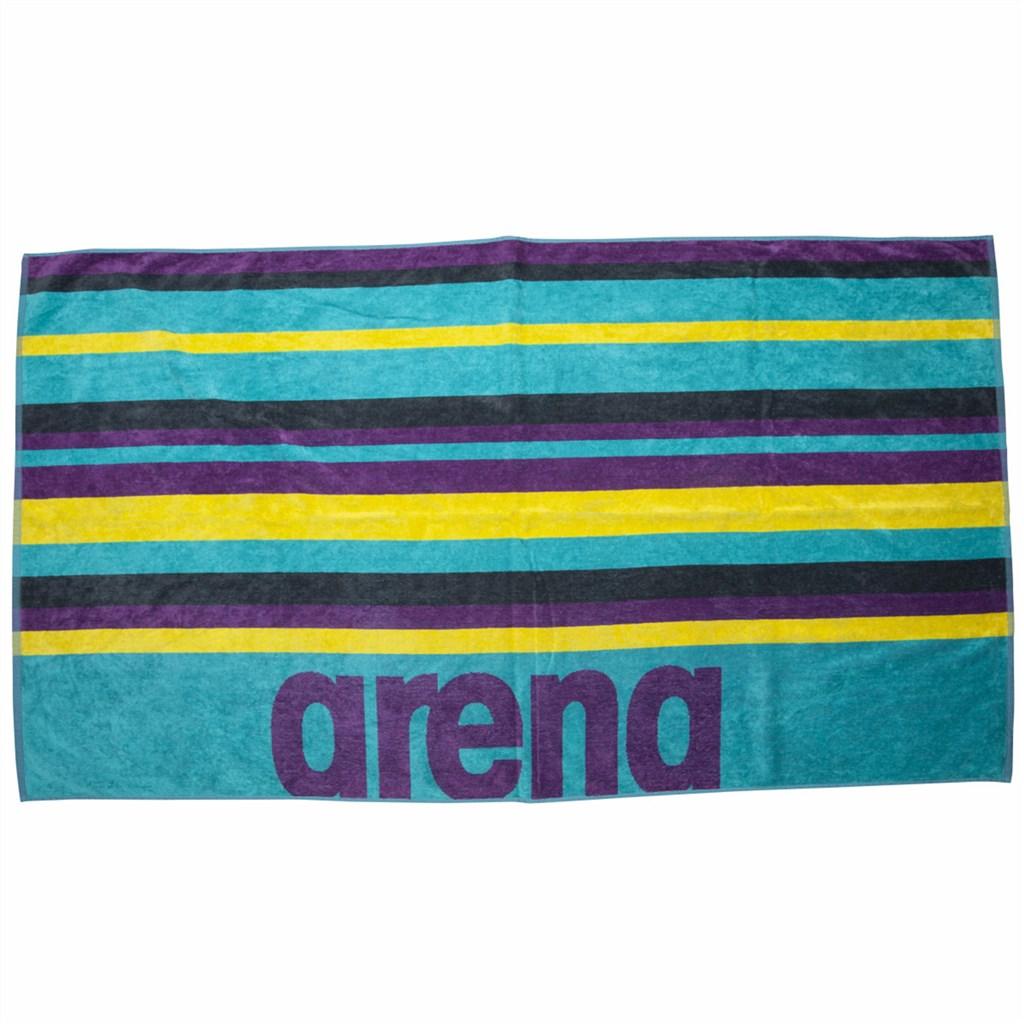 Arena - Beach Multistripes Towel - mint/multi
