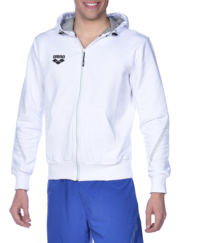 Arena - Tl Hooded Jacket - white