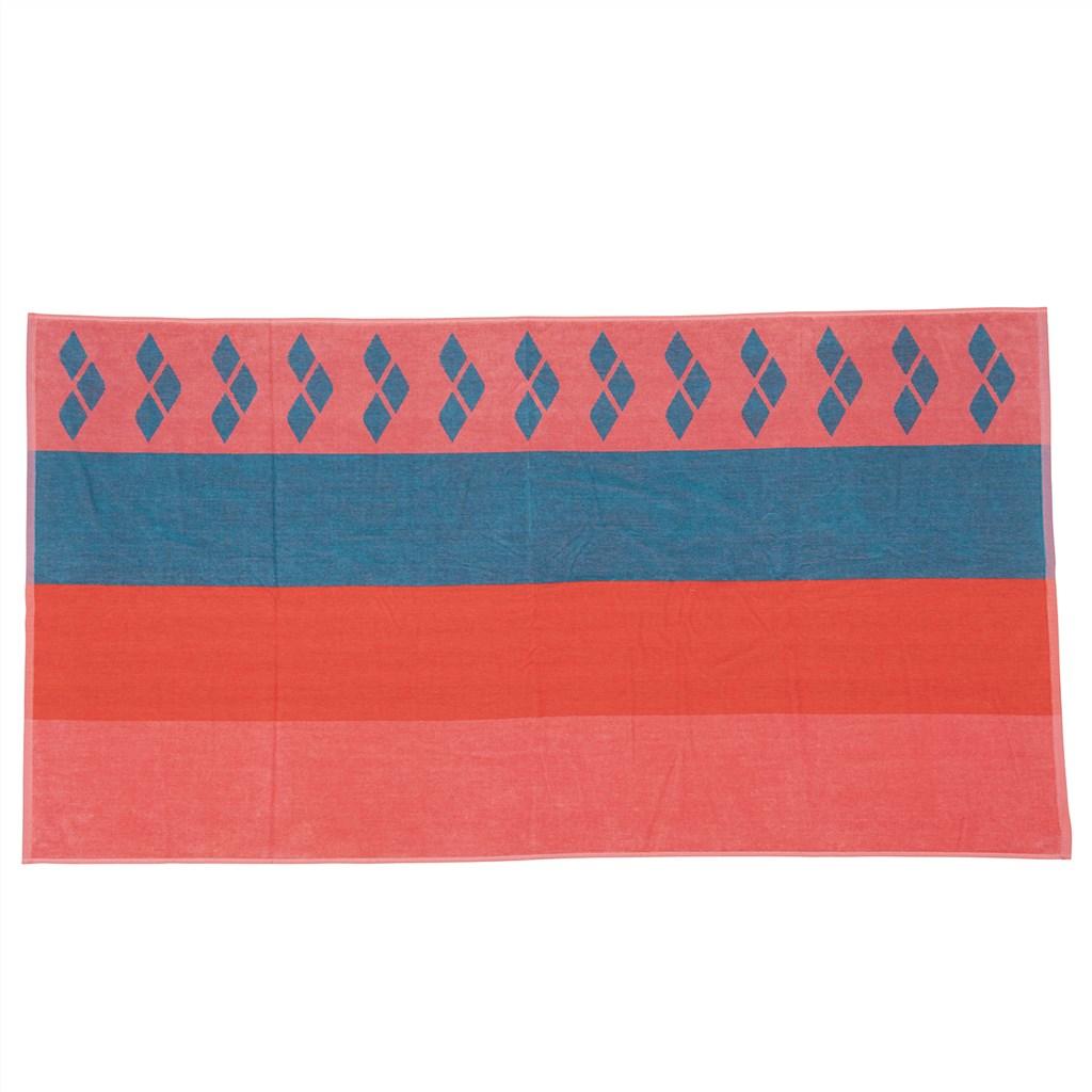 Arena - Beach Multistripes Towel - floreale/galapagos