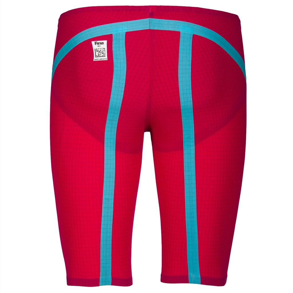 Arena - M Carbon Flex VX Jammer - bright red/turquoise