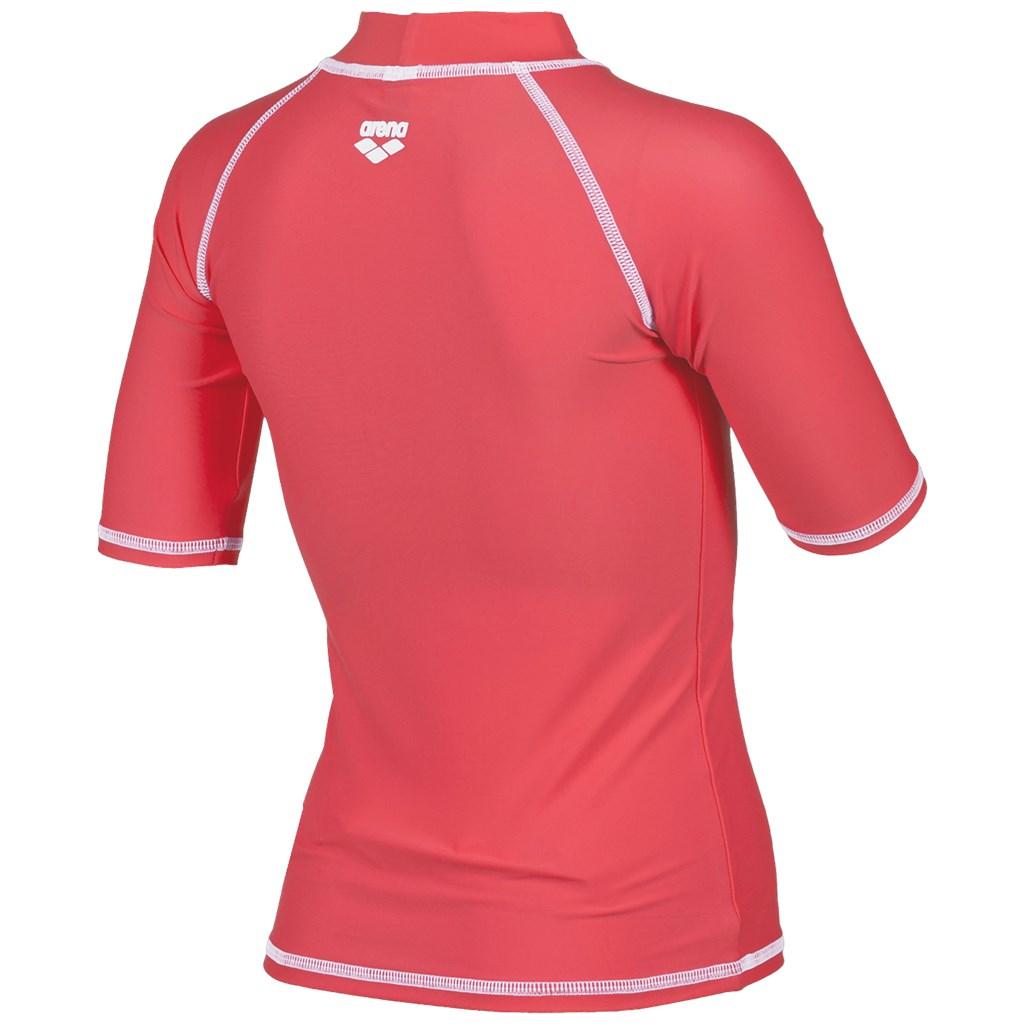 Arena - G Uv T-Shirt - shiny pink/white