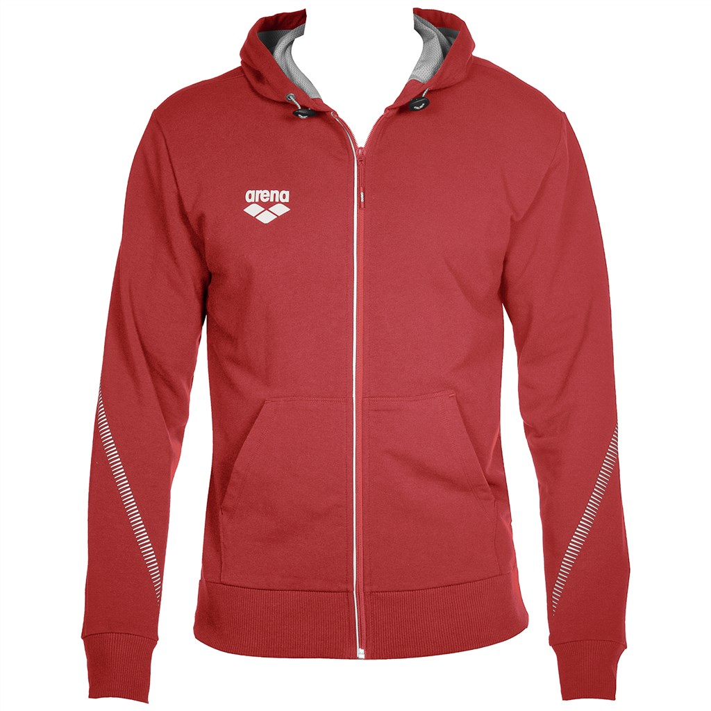 Arena - Tl Hooded Jacket - red