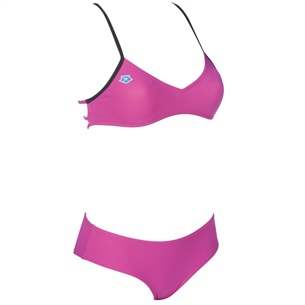 Arena - W Icons Cross Back Two Pieces - pink flambe