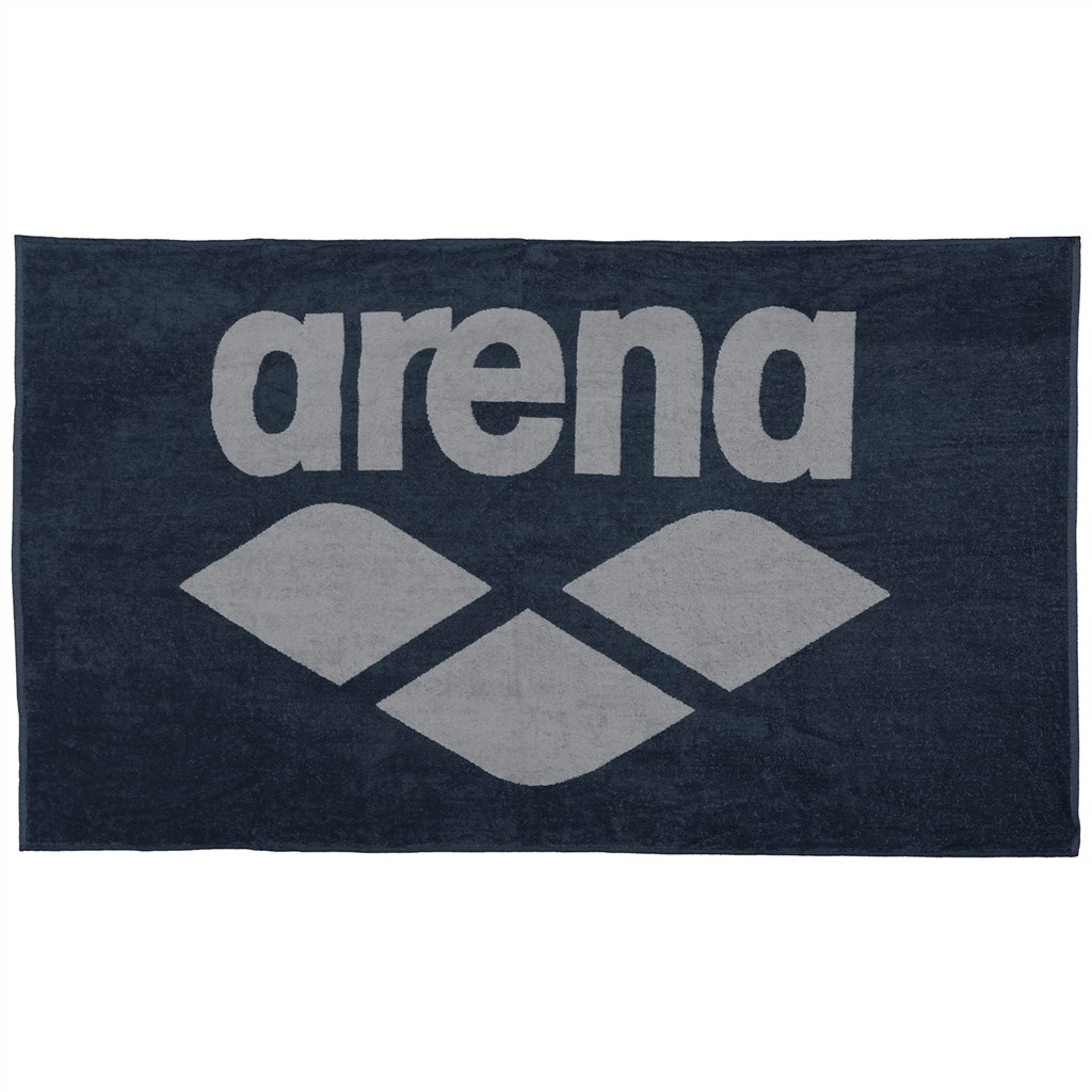 Arena - Pool Soft Towel - navy/grey