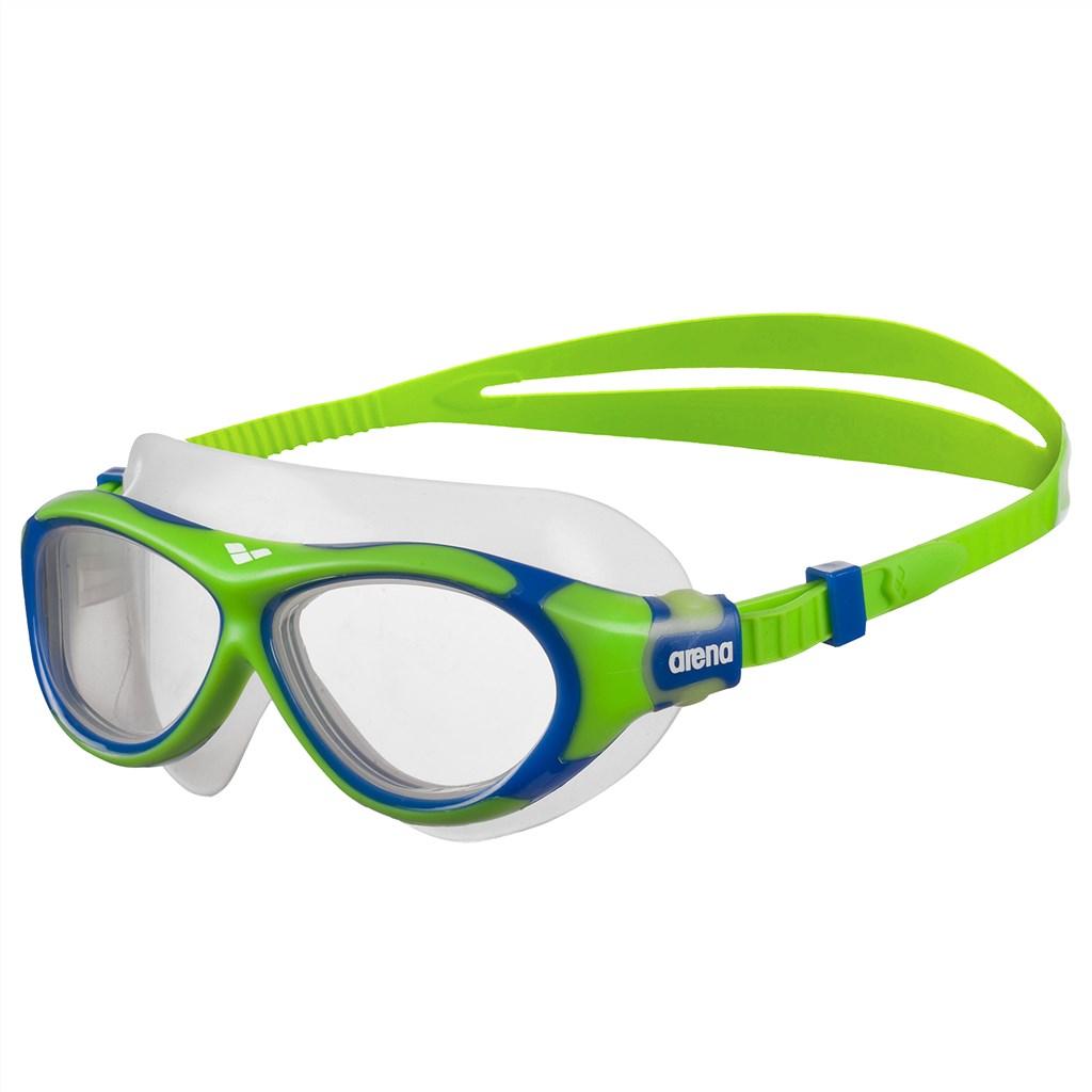 Arena - Jr Oblò Goggle - green/clear