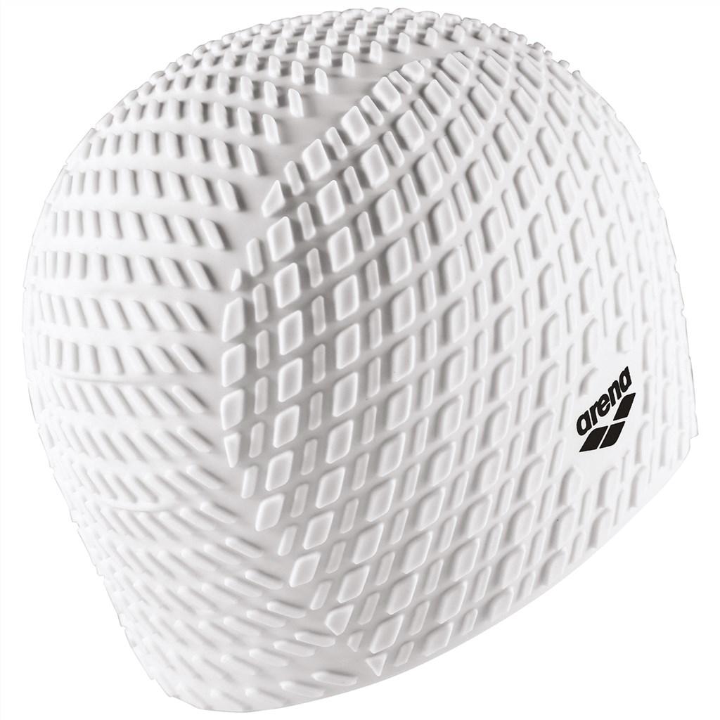 Arena - Bonnet Silicone Cap - white