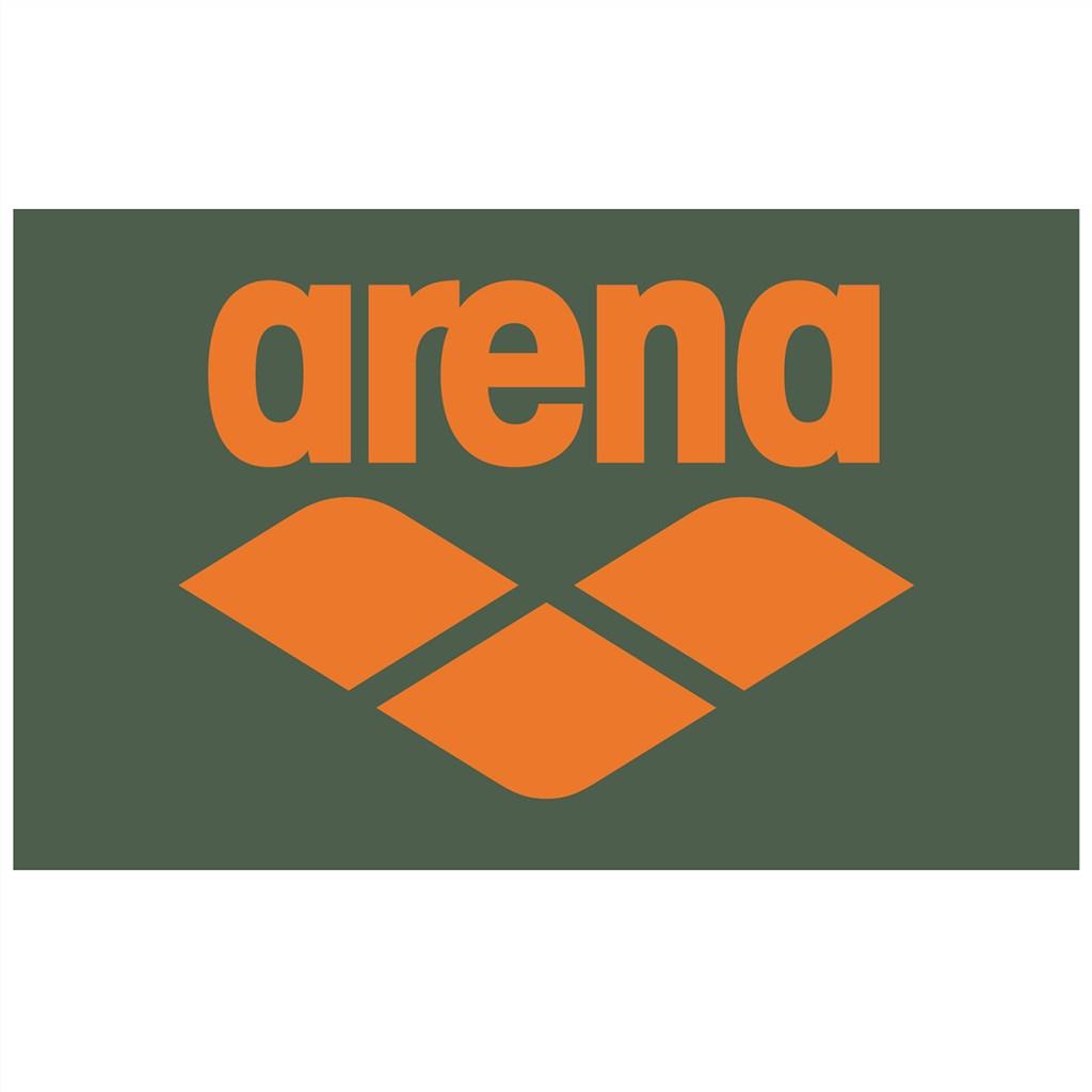 Arena - Pool Soft Towel - army/tangerine