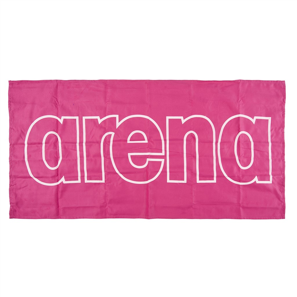Arena - Gym Smart Towel - fresia rose/white
