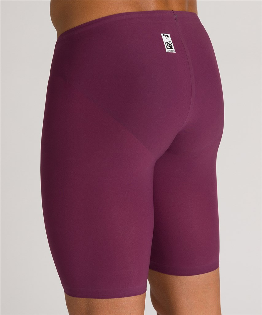Arena - M Powerskin R-Evo One Sl Jammer - red wine/turquoise