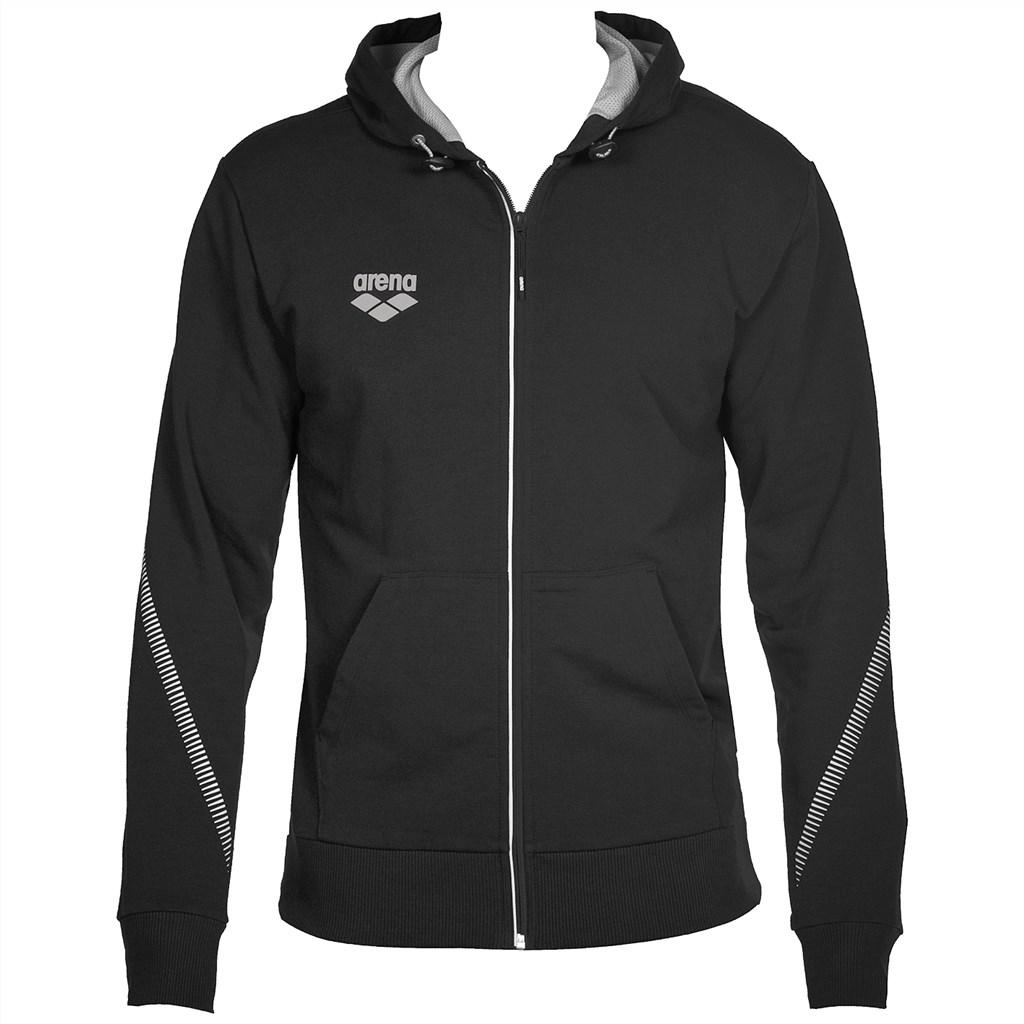 Arena - Tl Hooded Jacket - black