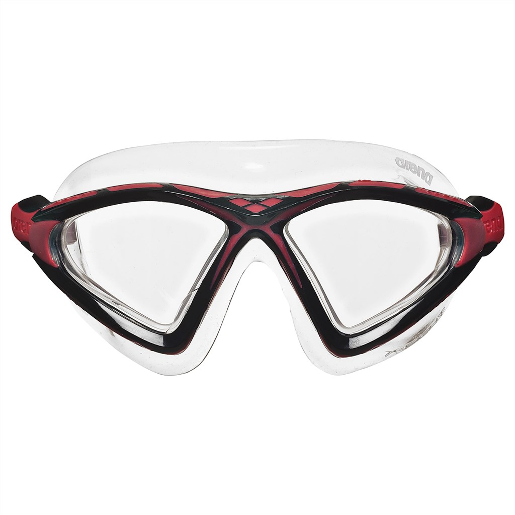 Arena - X-Sight 2 Goggle - clear/clear/red
