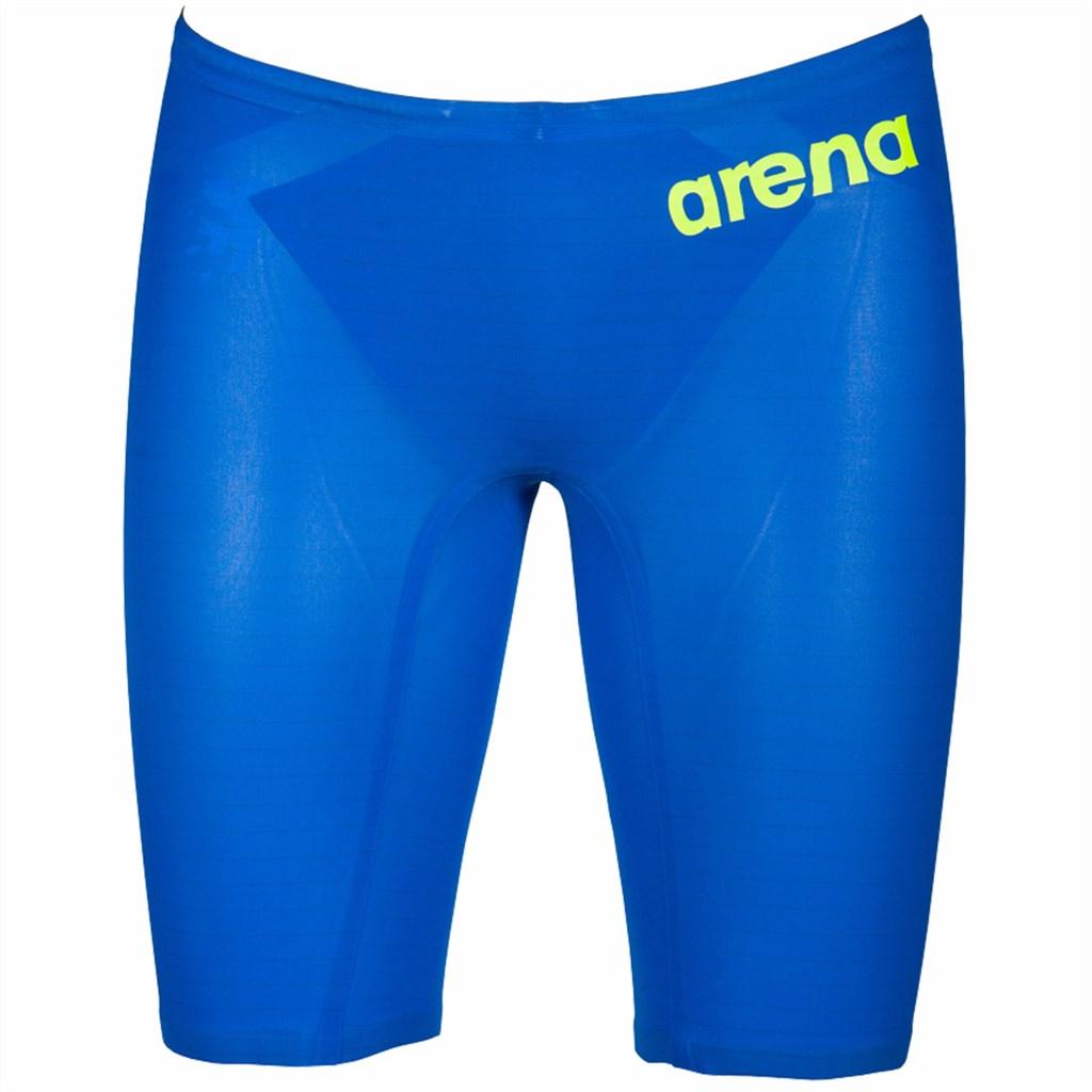 Arena - M Pwskin Carbon Air2 Jammer - electric blue/dark grey/fluo y