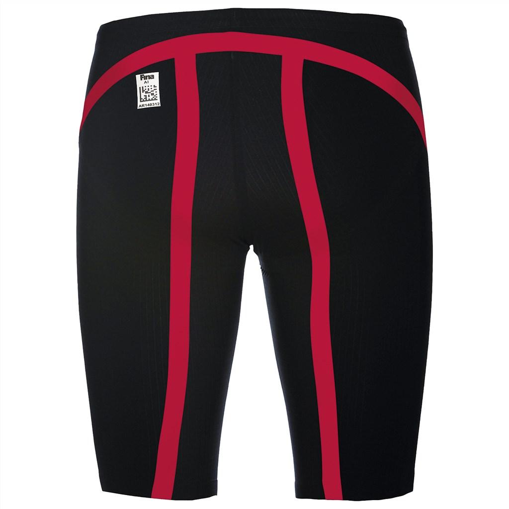 Arena - M Carbon Flex VX Jammer - dark grey/fluo red