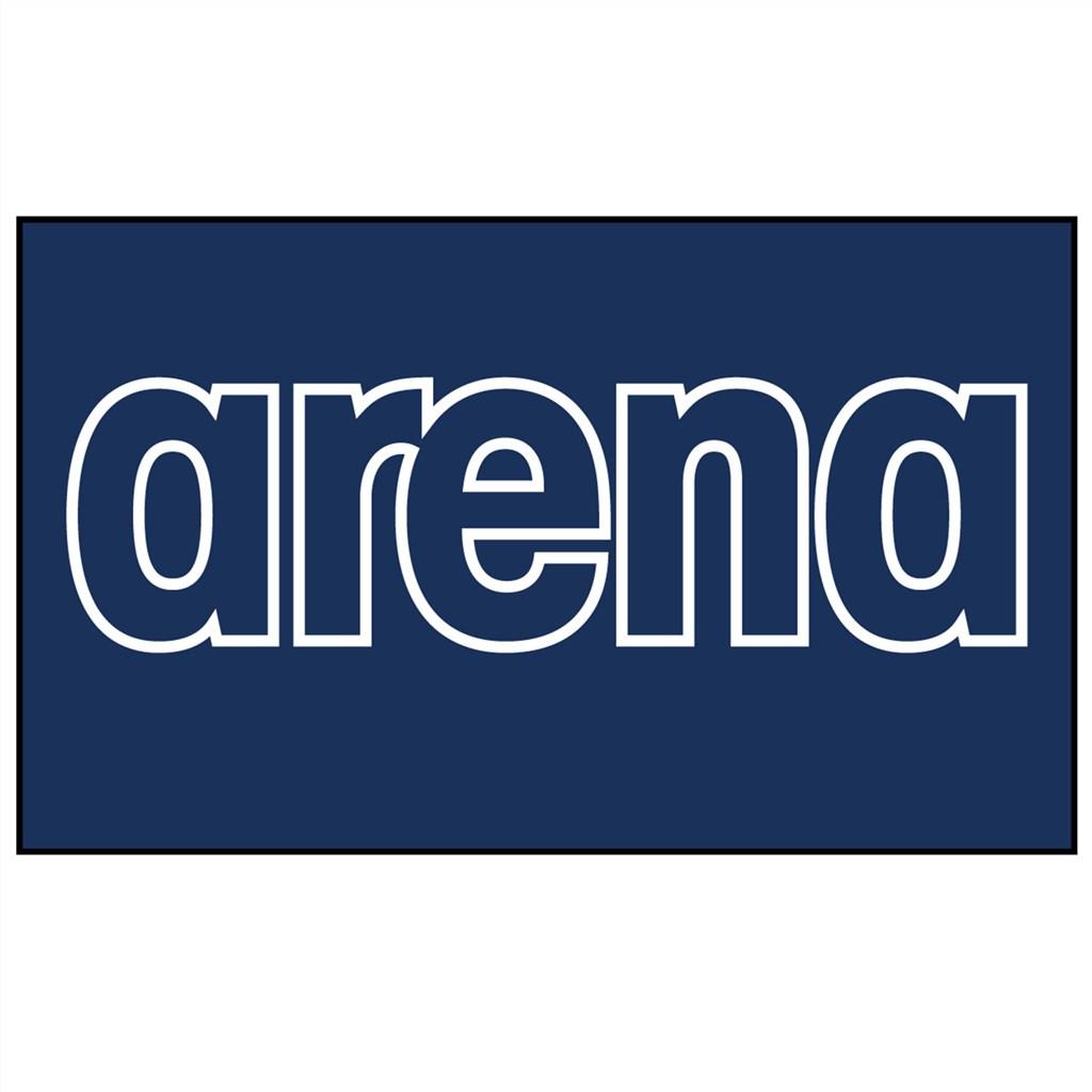 Arena - Gym Smart Towel - navy/white