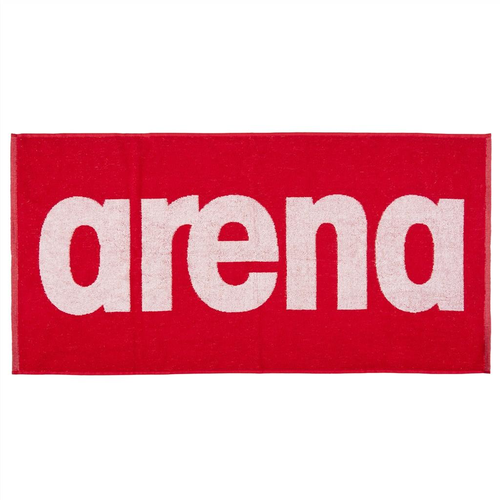 Arena - Gym Soft Towel - red/white
